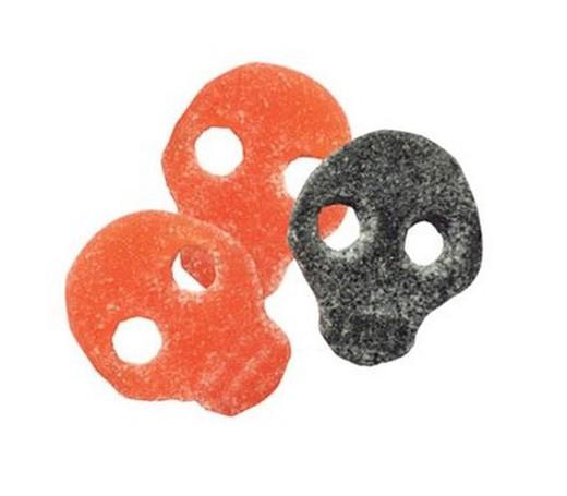 Calaveras acidas de mora y naranja Granhs 290u. 2