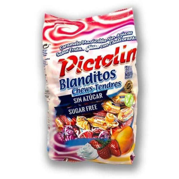 Caramelos Pictolin Masticables Sin Azucar