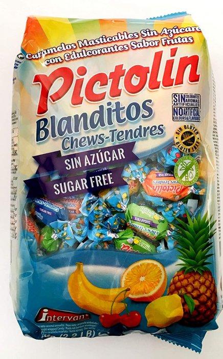 Pictolin Blanditos Sin Azucar Masticables Sabores