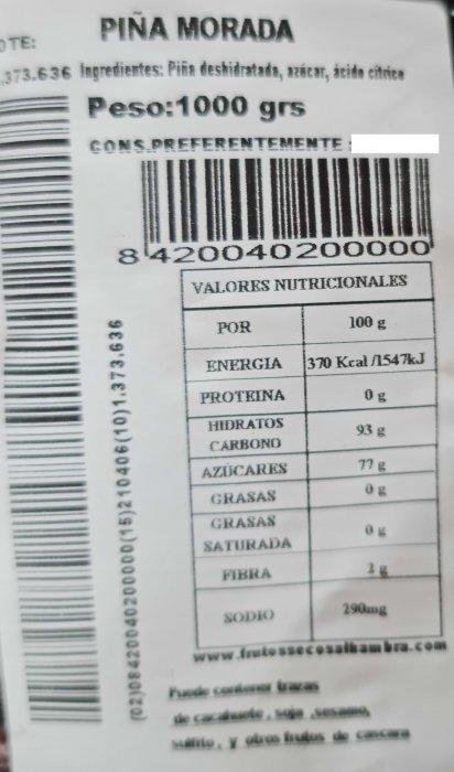 Pina Morada 1