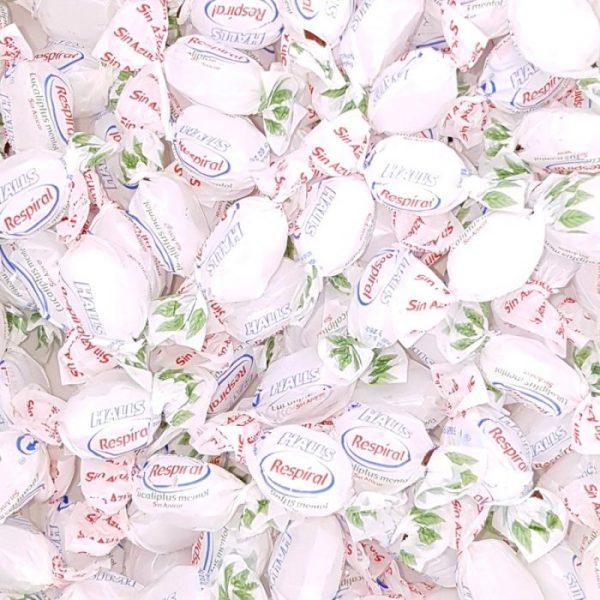 Respiral de Eucalipto Sin Azucar caramelo