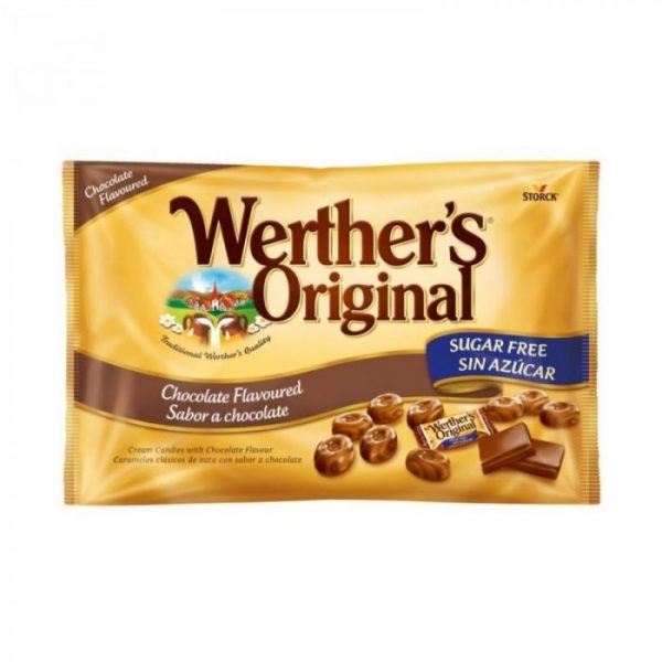 Werthers Original de Chocolate Sin Azucar