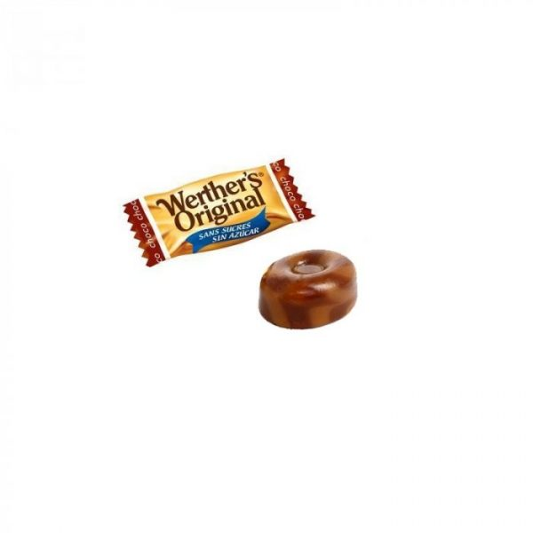 Werthers Original de Chocolate Sin Azucar caramelo