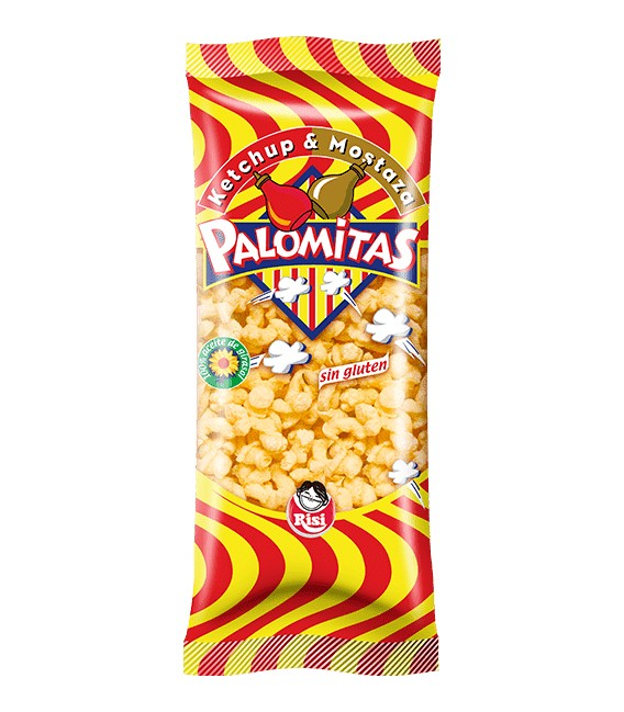 Palomitas de Ketchup y Mostaza