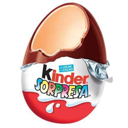 huevos chocolate kinder